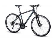 Crossové jízdní kolo 4Ever Compact 2016 černá/modrá